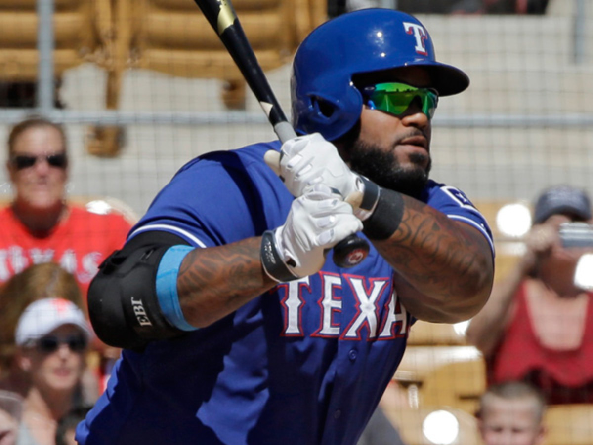 Can new arrival Prince Fielder help carry Texas back into the postseason? (Mark Duncan/AP)