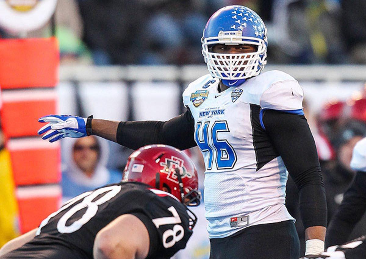 Oakland Raiders select Khalil Mack No. 5 in 2014 NFL draft