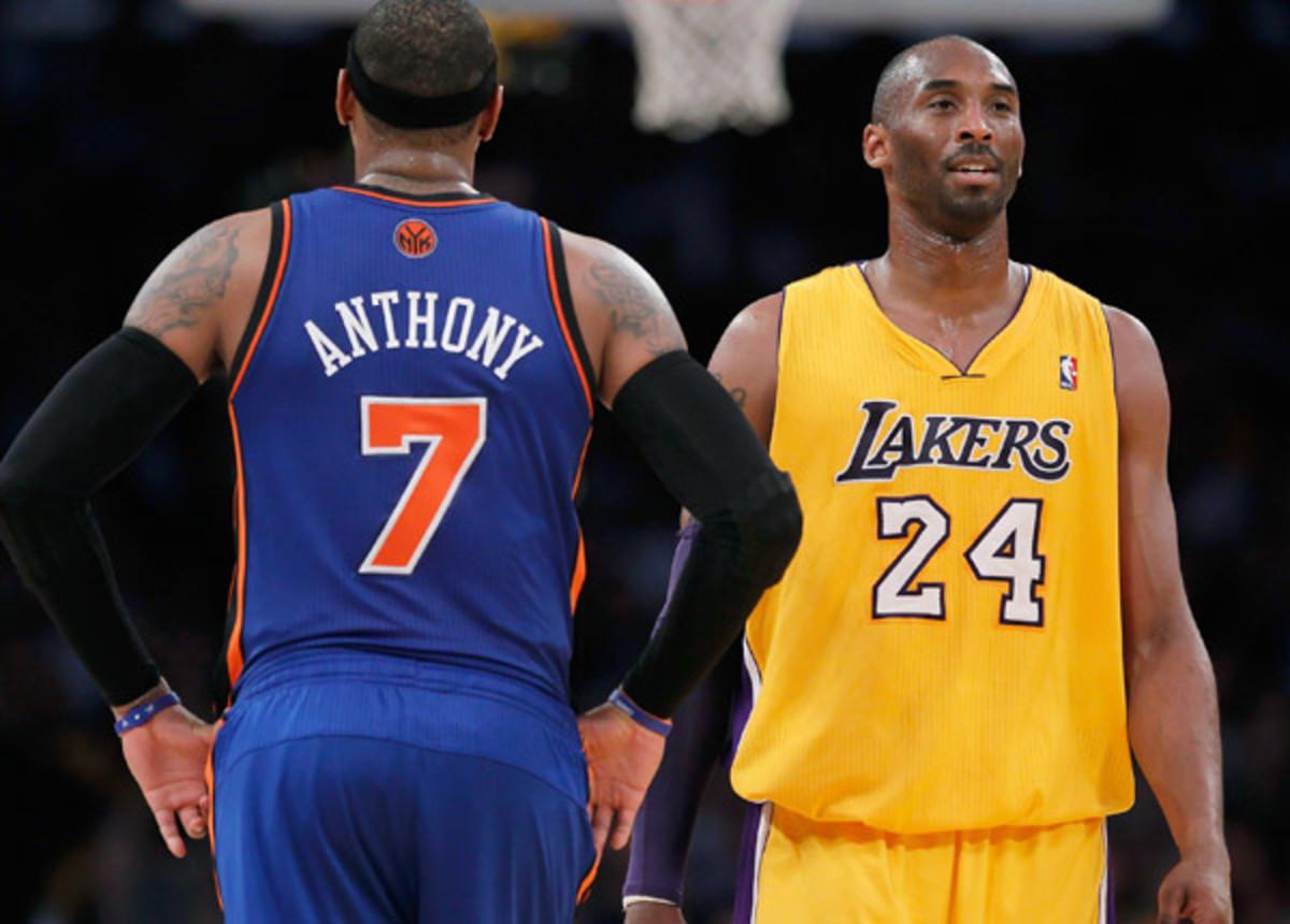 Carmelo Anthony, Kobe Bryant
