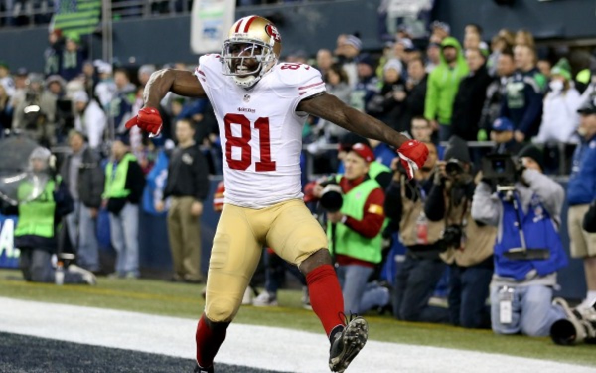 49ers receiver Anquan Boldin has made the Pro Bowl three times in his career. (Christian Petersen/Getty Images)