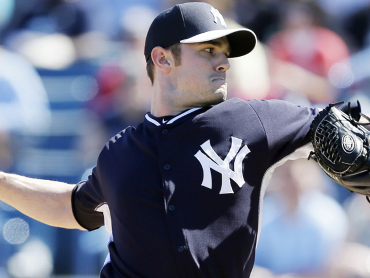 David Robertson is the new Yankees closer with the retirement of Mariano Rivera. (Charlie Neibergall/AP)