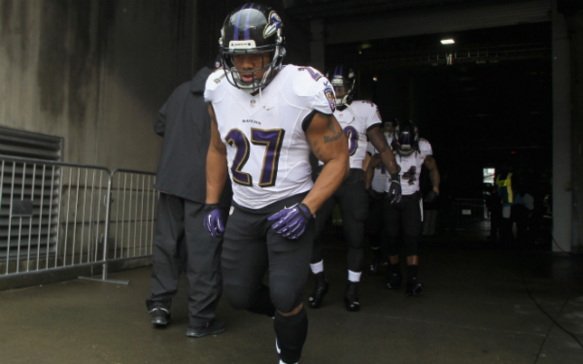 """Ray Rice's attorney chalks up the incident to nothing more than a small """"misunderstanding."""" (John Grieshop/Getty Images)"""