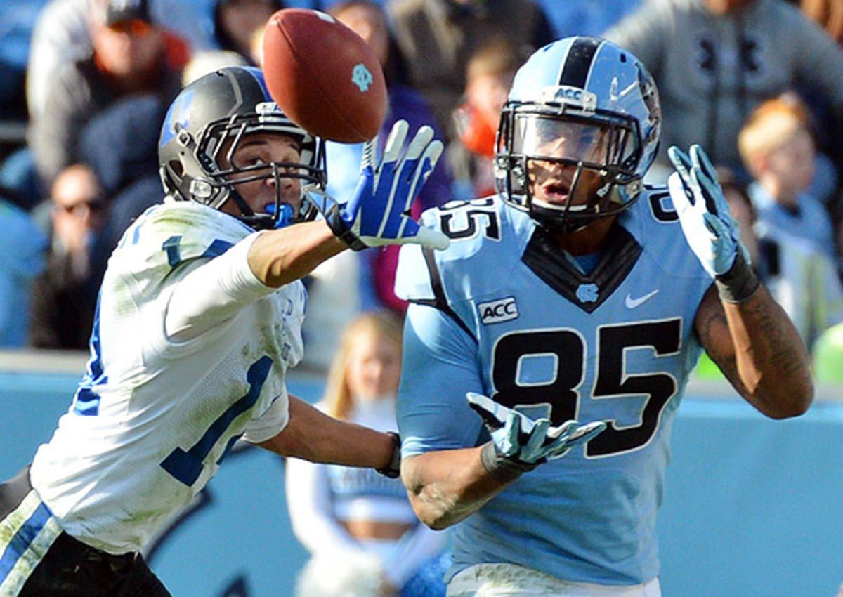 Eric Ebron 2014 NFL draft: 'I play the tight end role like no one else,' North Carolina's Eric Ebron said Thursday.