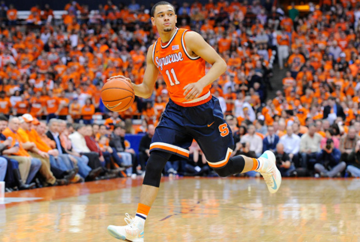 Tyler Ennis' standout freshman season at Syracuse could make him a lottery pick in the 2014 NBA draft.