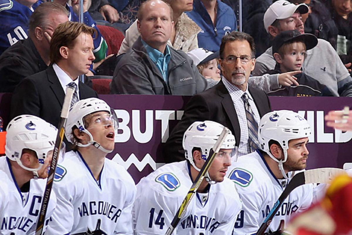 John Tortorella and the Vancouver Canucks