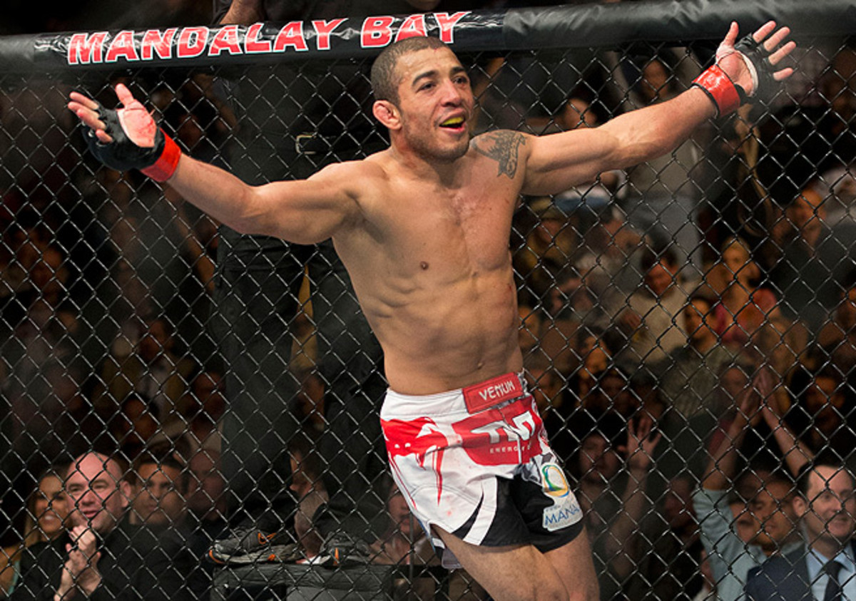 José Aldo has not lost during the past eight years, a remarkable string of 16 consecutive victories.