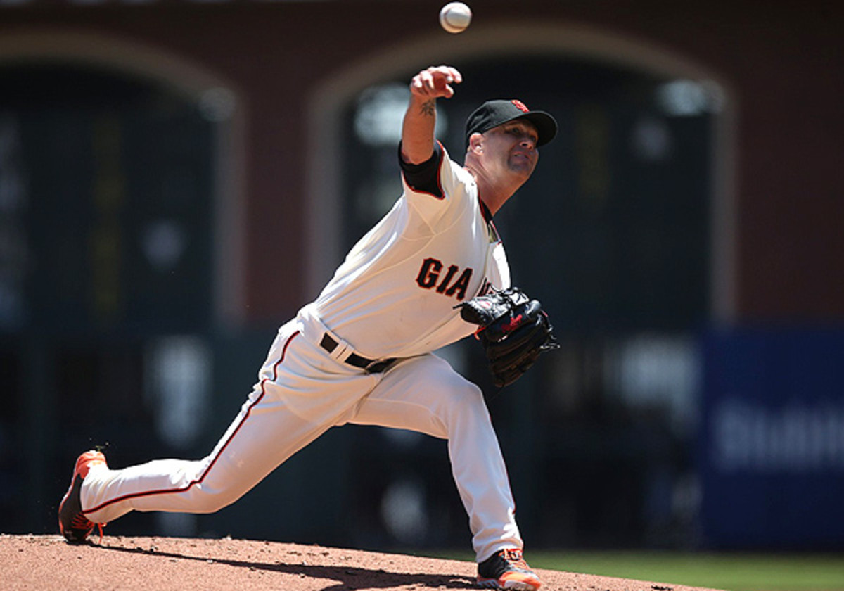 Tim Hudson signed a two-year, $23 million deal in the offseason with San Francisco.