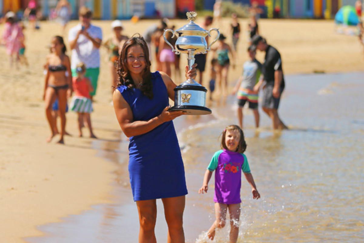 Li Na won the Australian Open final 7-6 (3), 6-0 over Dominika Cibulkova. (Scott Barbour/Getty Images)