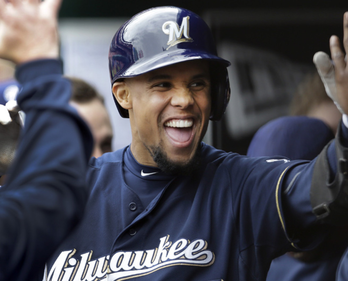 Carlos Gomez and the Brewers are one of baseball's least patient teams, but are winning regardless.
