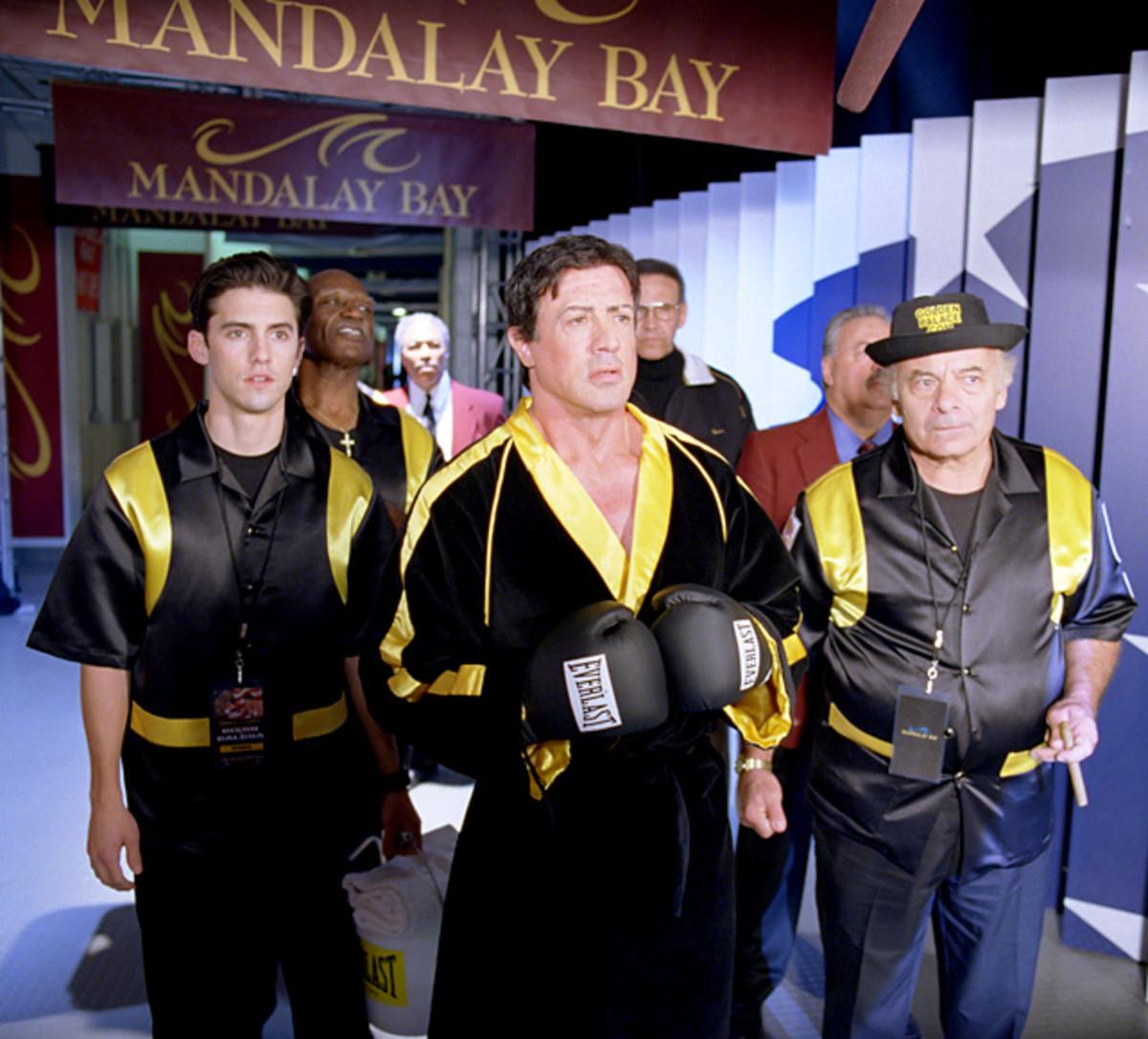 Robert Balboa, Rocky Balboa and Paulie Pennino