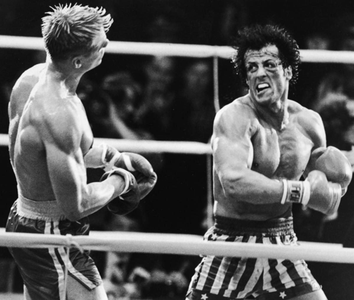 Rocky Balboa and Ivan Drago