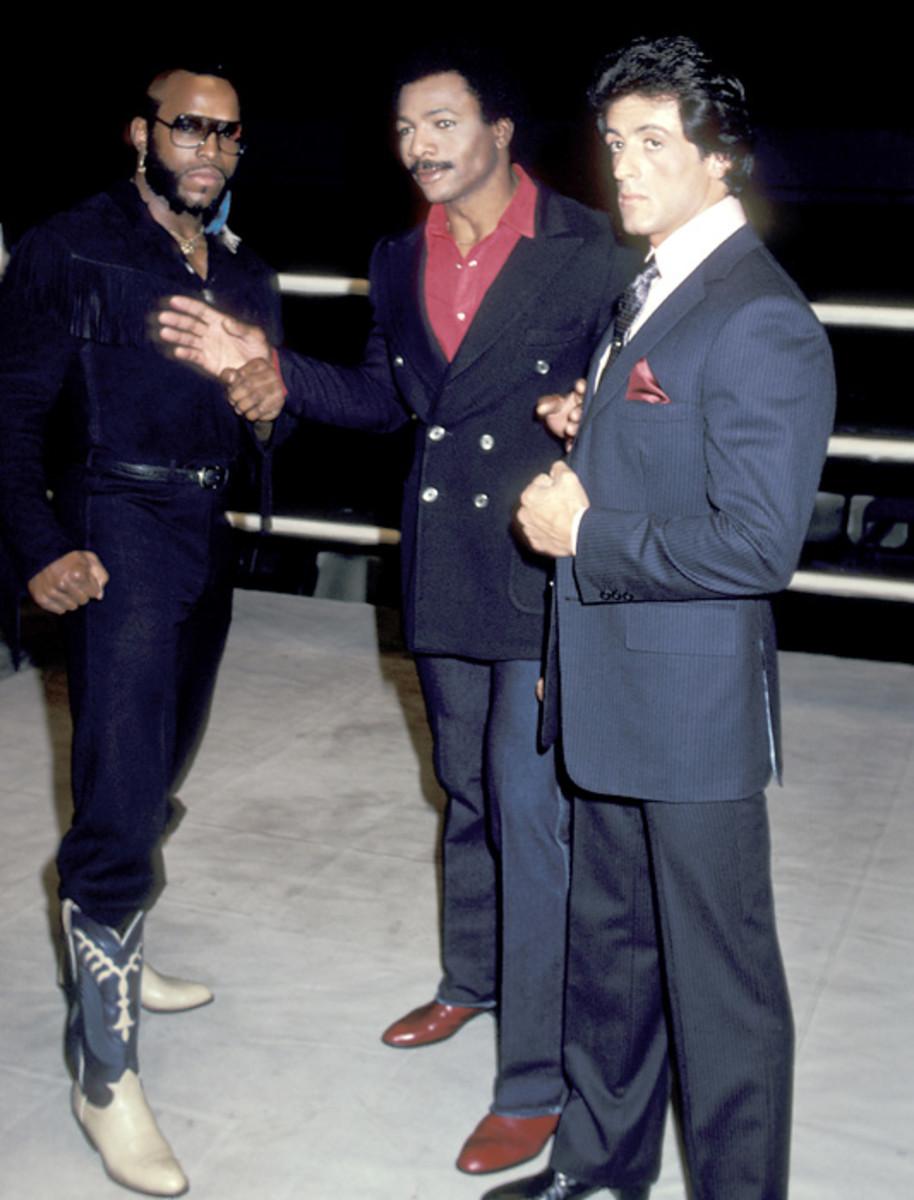 Clubber Lang, Apollo Creed and Rocky Balboa