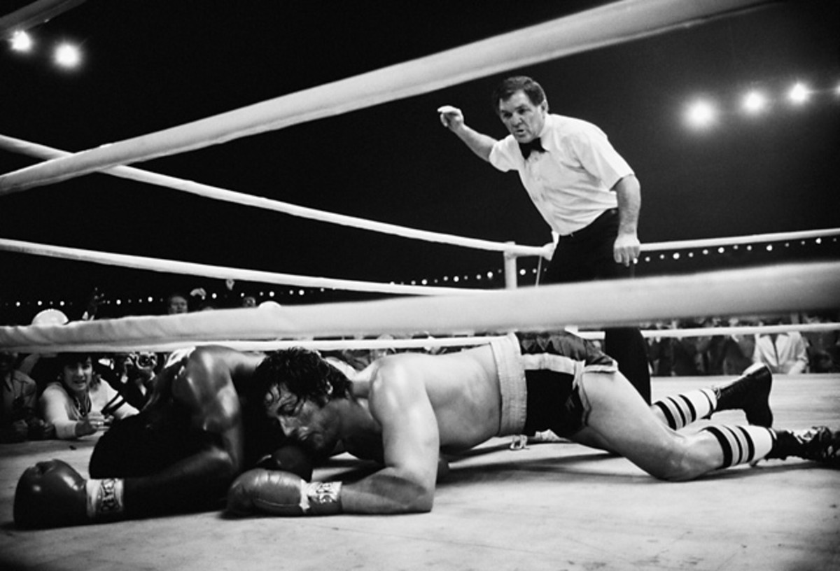 Rocky Balboa and Apollo Creed
