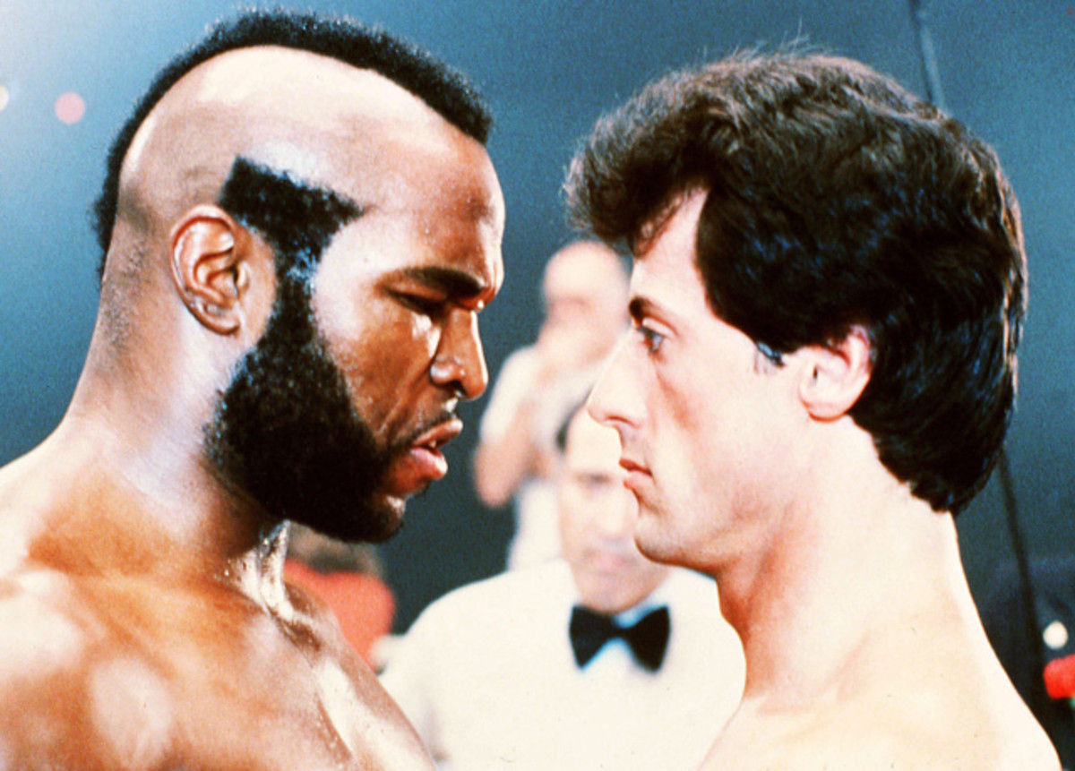 Clubber Lang and Rocky Balboa