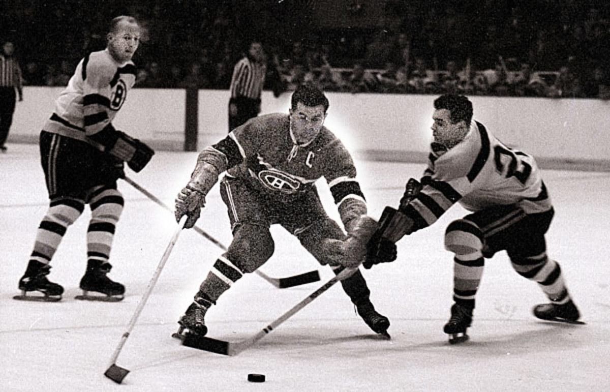 "Maurice ""Rocket"" Richard vs. Boston Bruins"