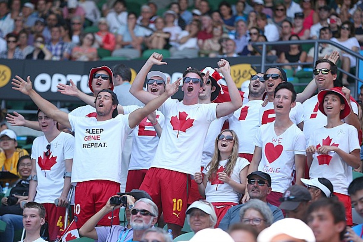 The Genie Army have been vocal and proud. (Scott Barbour/Getty Images)