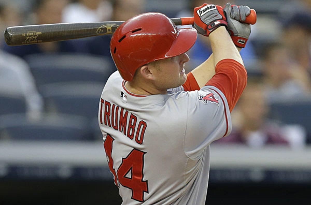 Mark Trumbo, Diamondbacks