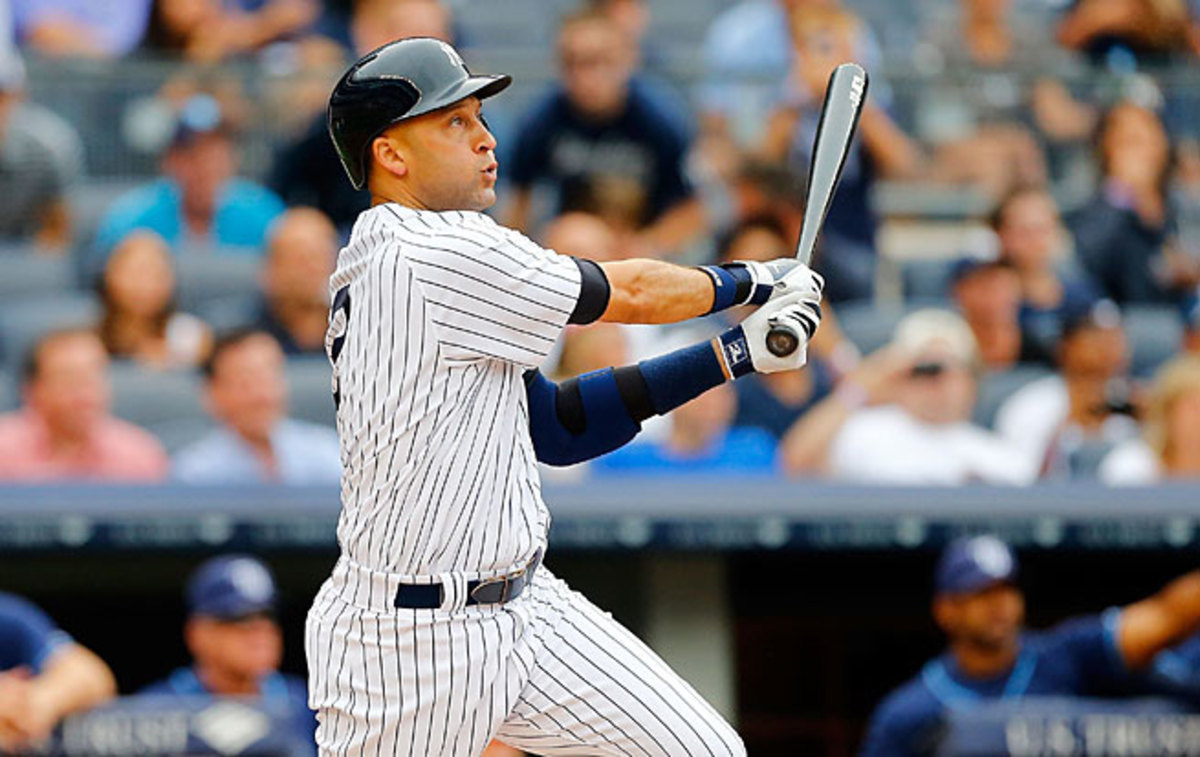 After getting just 12 hits last season, Derek Jeter is still 940 hits away from Pete Rose's total of 4,256.