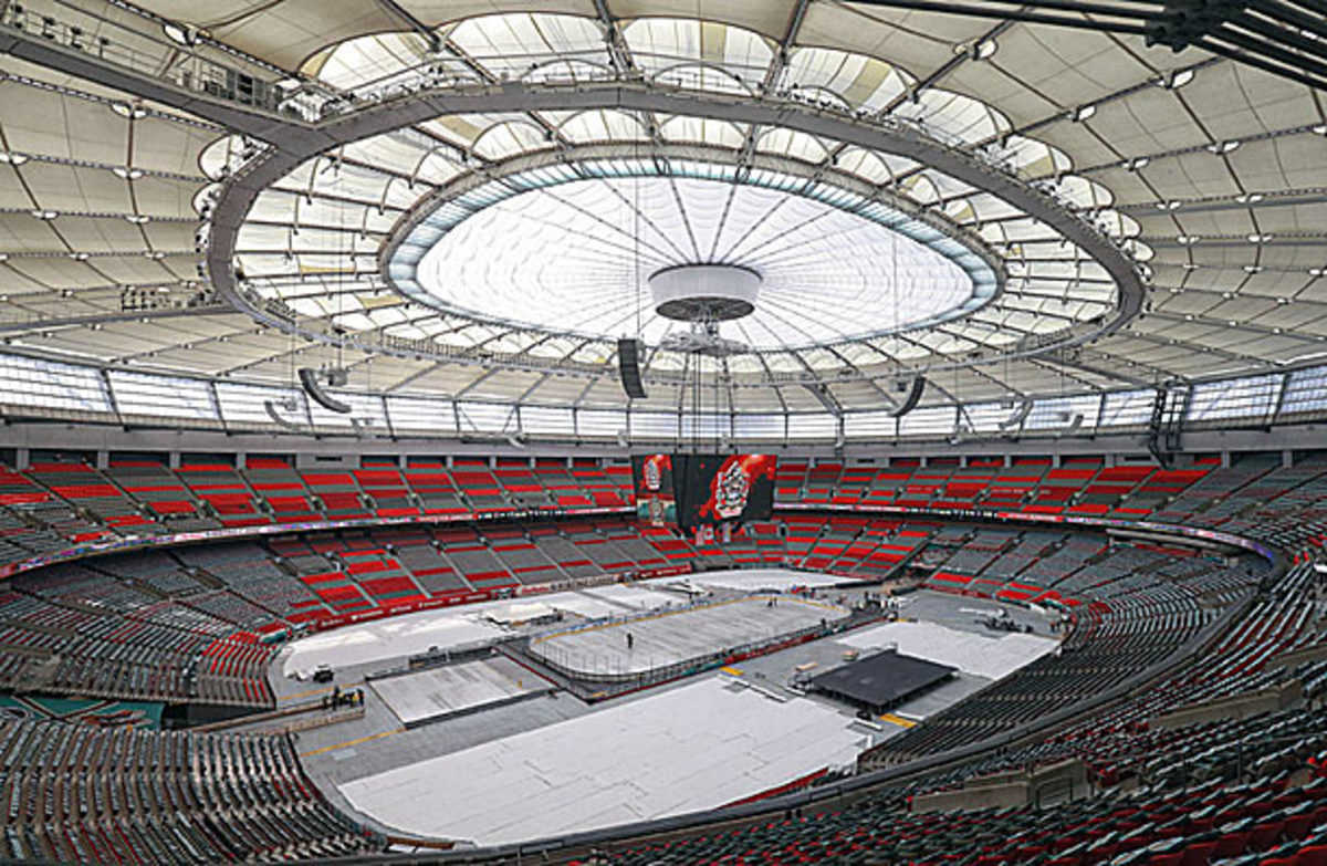 BC Place in Vancouver will host the NHL outdoor Heritage Classic game.
