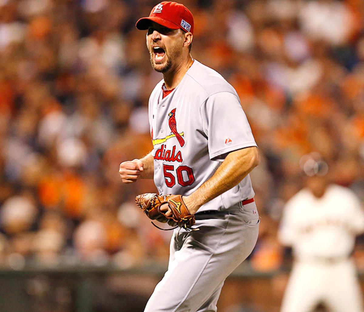 Adam Wainwright Cardinals NLCS Game 5 630