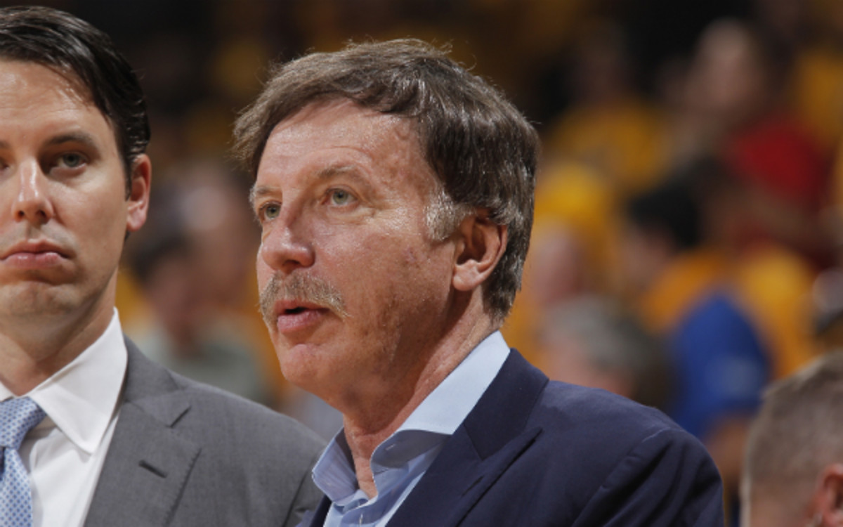 Rams owner Stan Kroenke bought 60 acres of land. (Rocky Widner/Getty Images)