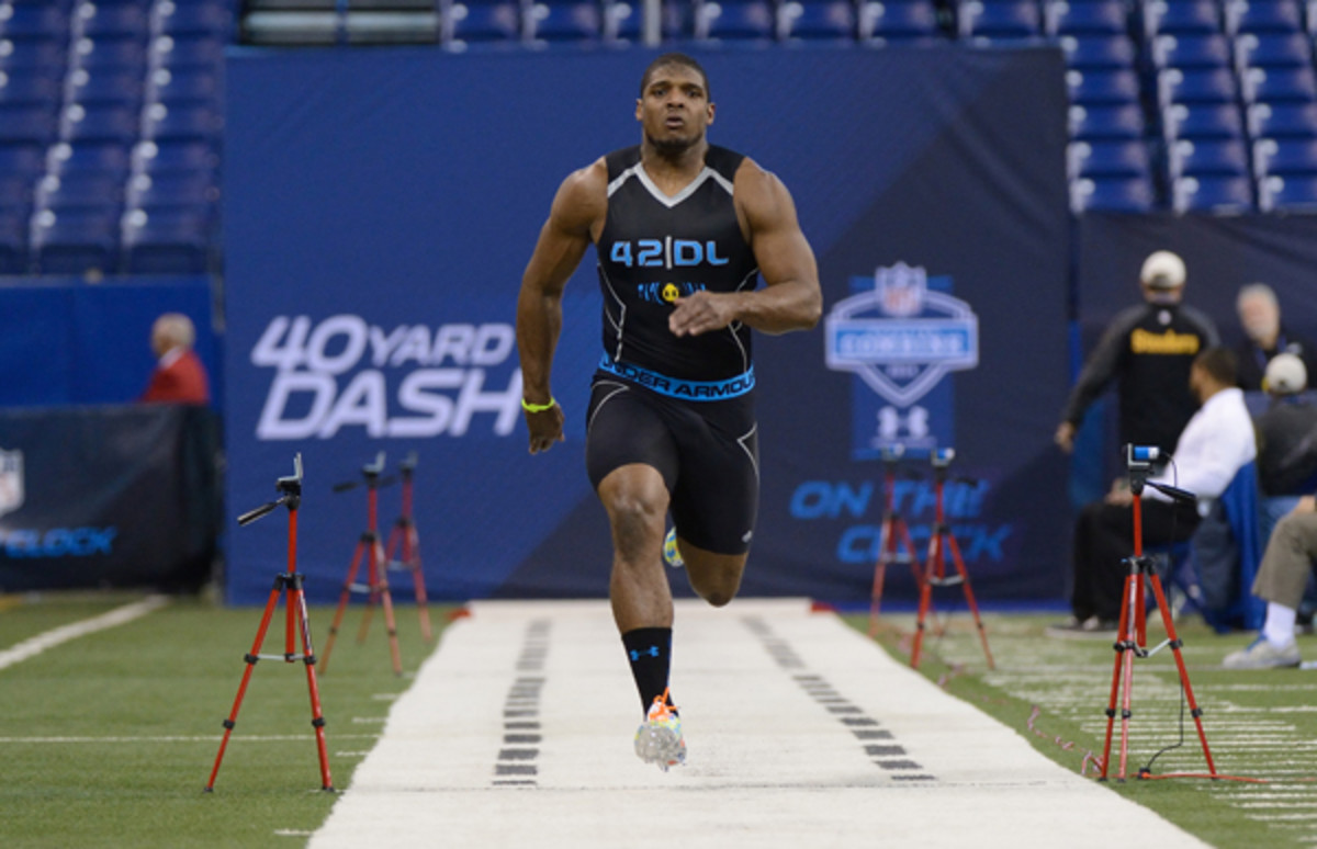 Michael Sam is blazing an important trail, but he didn't do that on the track.