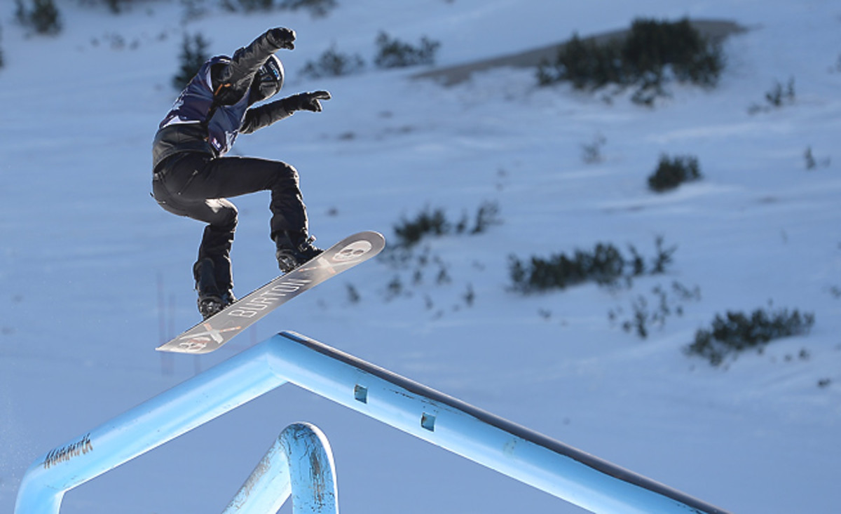Can Shaun White conquer a new Olympic domain in the snowboard slopestyle event?