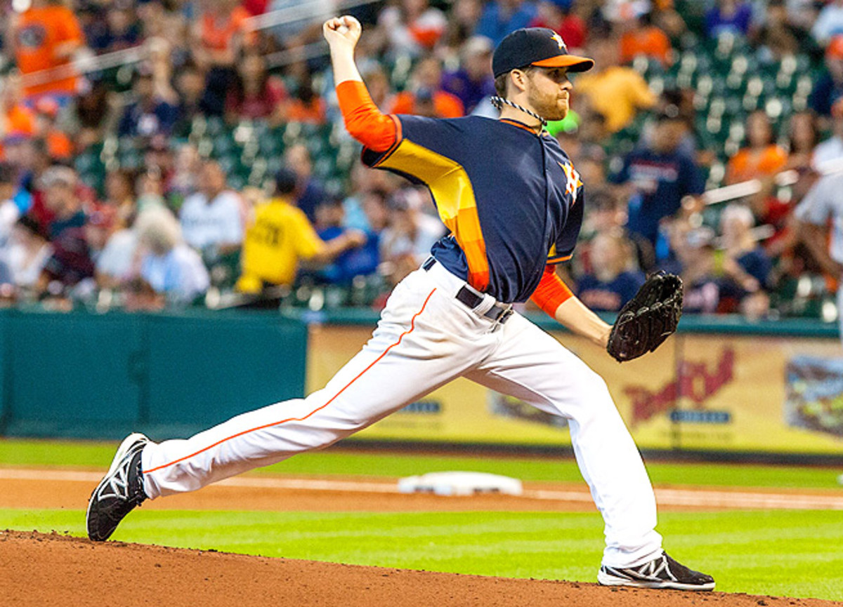 After holding the A's to two hits on Sunday, Collin McHugh qualifies as an excellent streaming option vs. the Mariners.