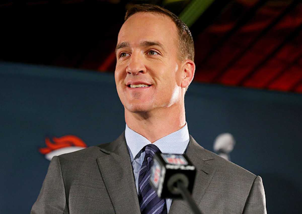 Peyton Manning signed a five-year deal with the Broncos prior to the 2012 season.