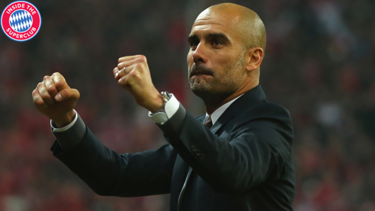 Pep Guardiola is trying to mold Bayern Munich into the perfect team, even with all of its past successes.