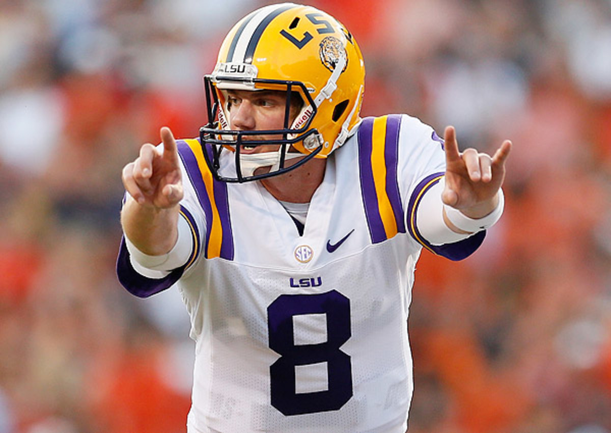 Zach Mettenberger was not one of the five SEC quarterbacks named to the Manning Award watchlist.