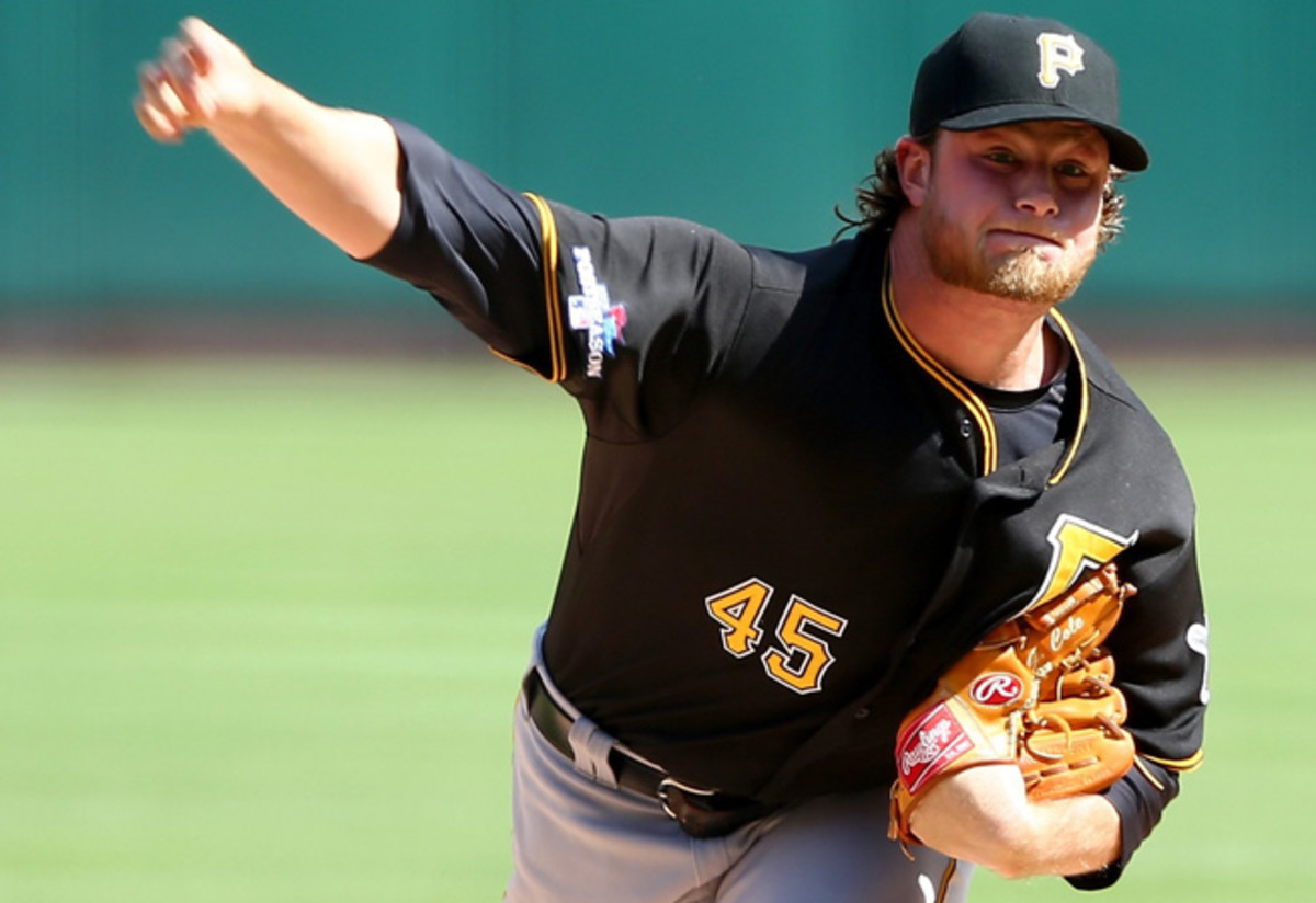 Gerrit Cole will try to get the Pirates back into the postseason after a stellar rookie debut in 2013.