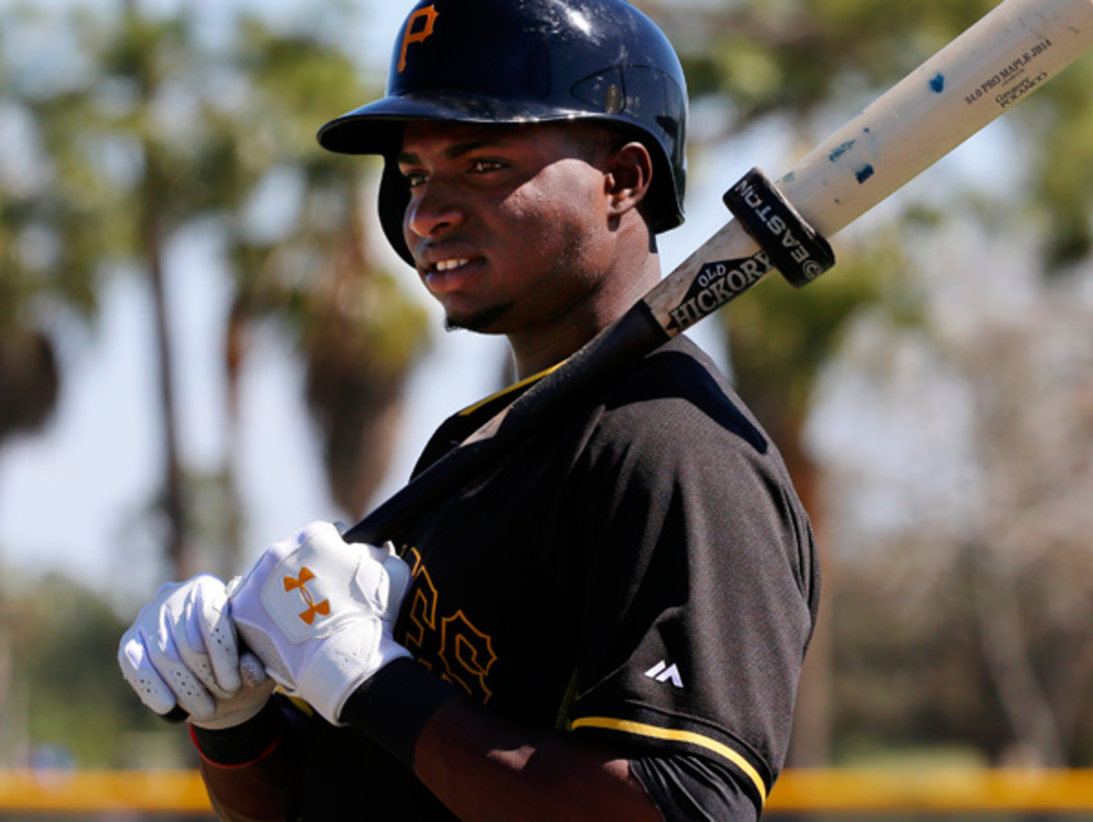 Gregory Polanco turned down a seven-year contract offer from the Pirates while in Triple-A. (Gene J. Puskar/AP)