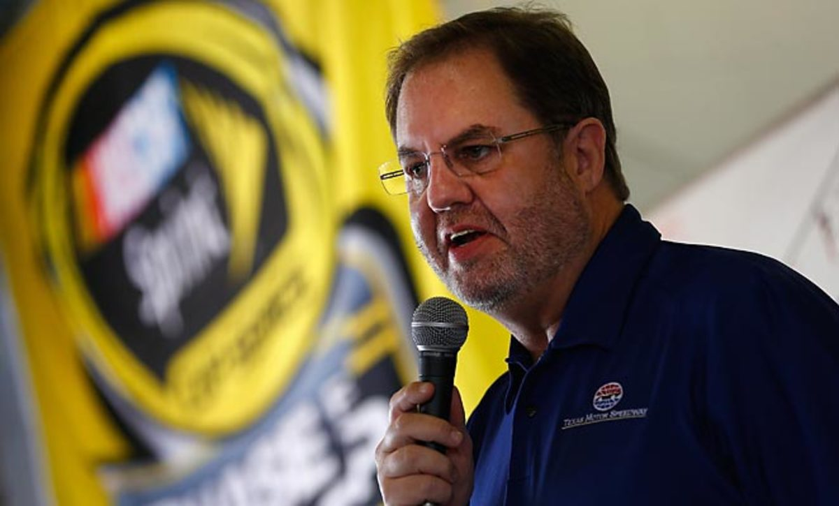 Eddie Gossage was none too pleased at the scheduling of a Formula One event in Austin.
