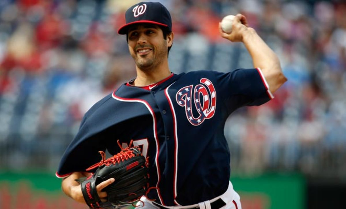 Gio Gonzalez only lasted three innings in his last start before being places on the 15-day disabled list.