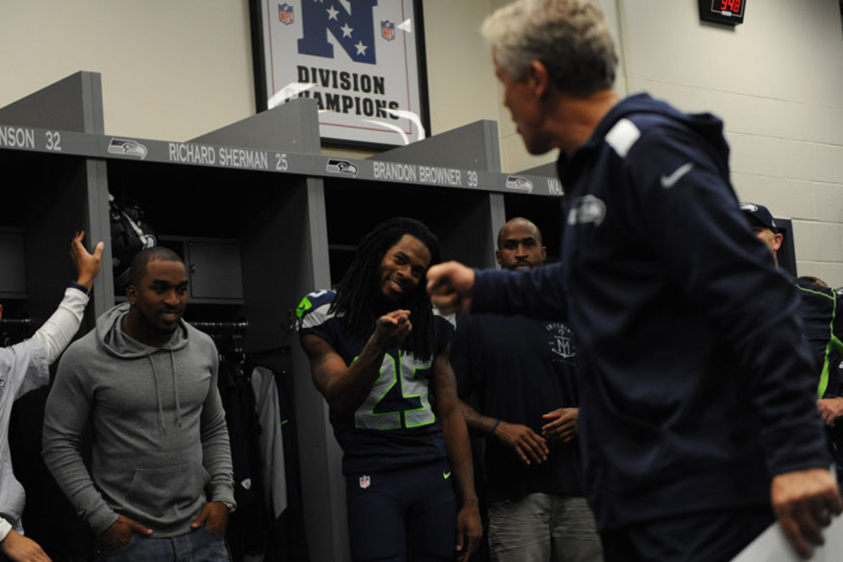 Richard Sherman's certainly on board. (Rod Mar for SI/The MMQB)