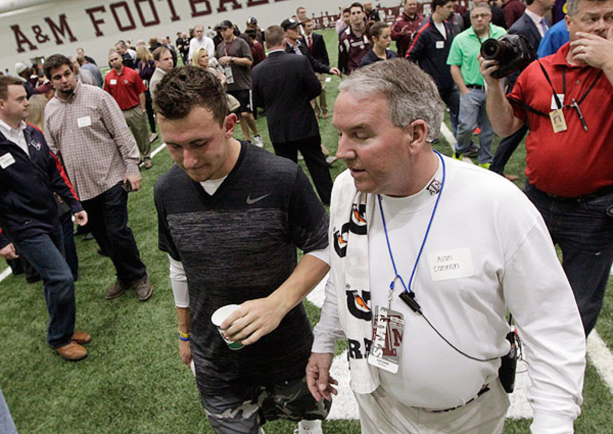 Johnny Manziel's 'sideshow' pro day doesn't impress Mike Zimmer