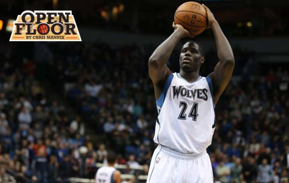 Anthony Bennett wolves