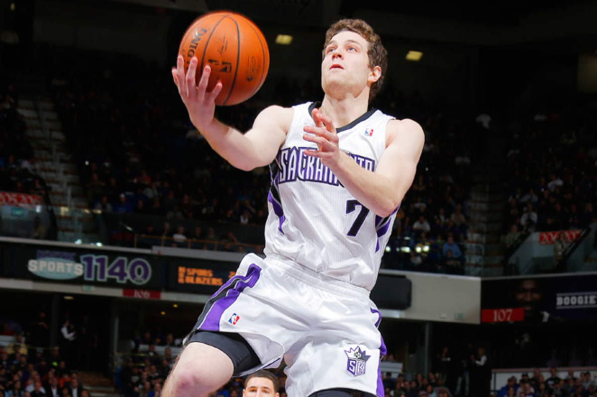 Fredette, who's averaging 5.9 points and 11.3 minutes, was bought out by the Kings on Thursday.