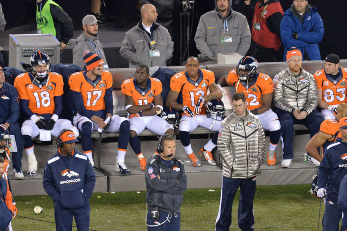 Total dejection. (Gary Bogdon/Sports Illustrated/The MMQB)