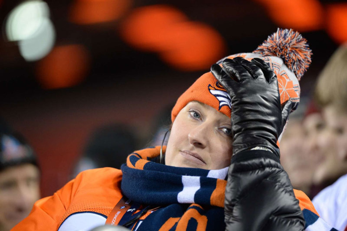 It could be worse: She could be taking New Jersey transit home. (Gary Bogdon/Sports Illustrated/The MMQB)
