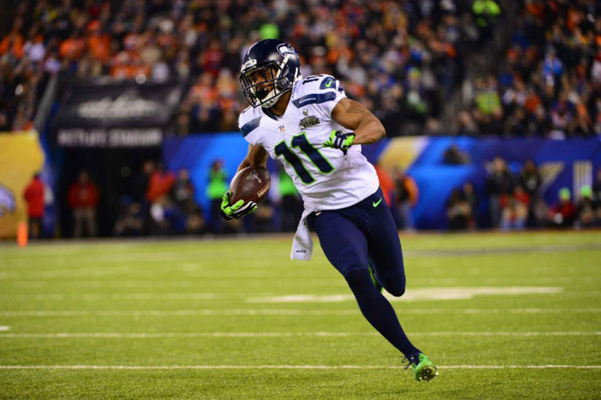 Denver said it had prepared for Harvin's speed but appeared caught out on two jet sweeps that went for long gains. (John Biever/Sports Illustrated/The MMQB)