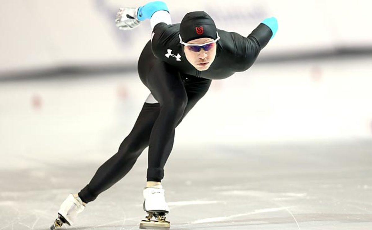 Tucker Fredricks asked his family not to come watch him compete in Sochi due to security concerns.