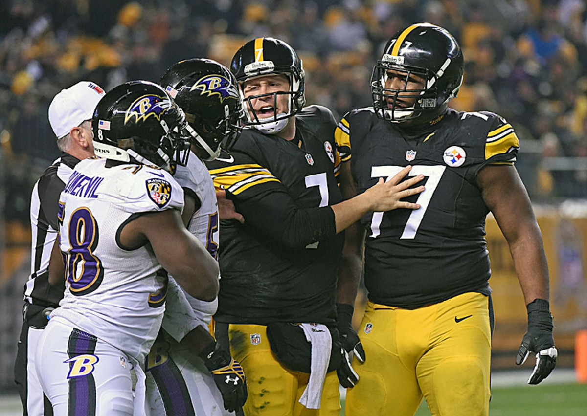 The Steelers and Ravens will do it one more time. (George Gojkovich/Getty Images)