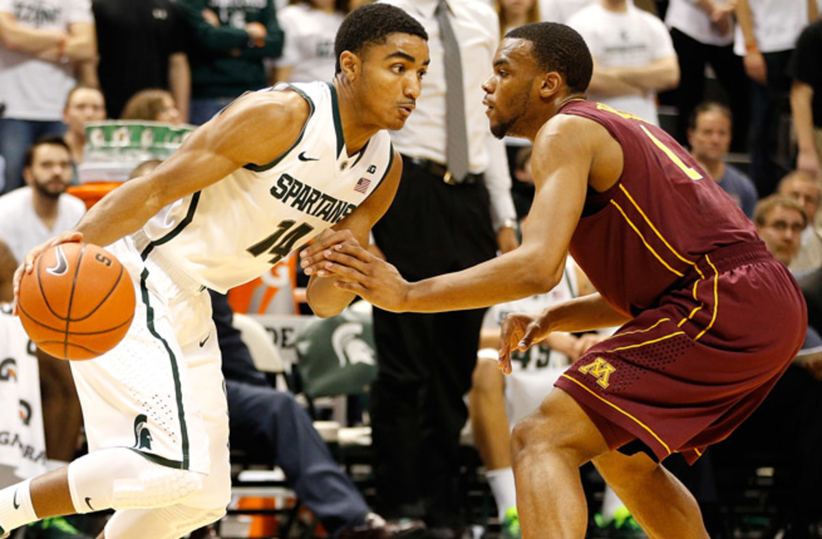 Gary Harris is averaging 17.8 points, but shooting just 40.4 percent and 32.7 percent from deep.