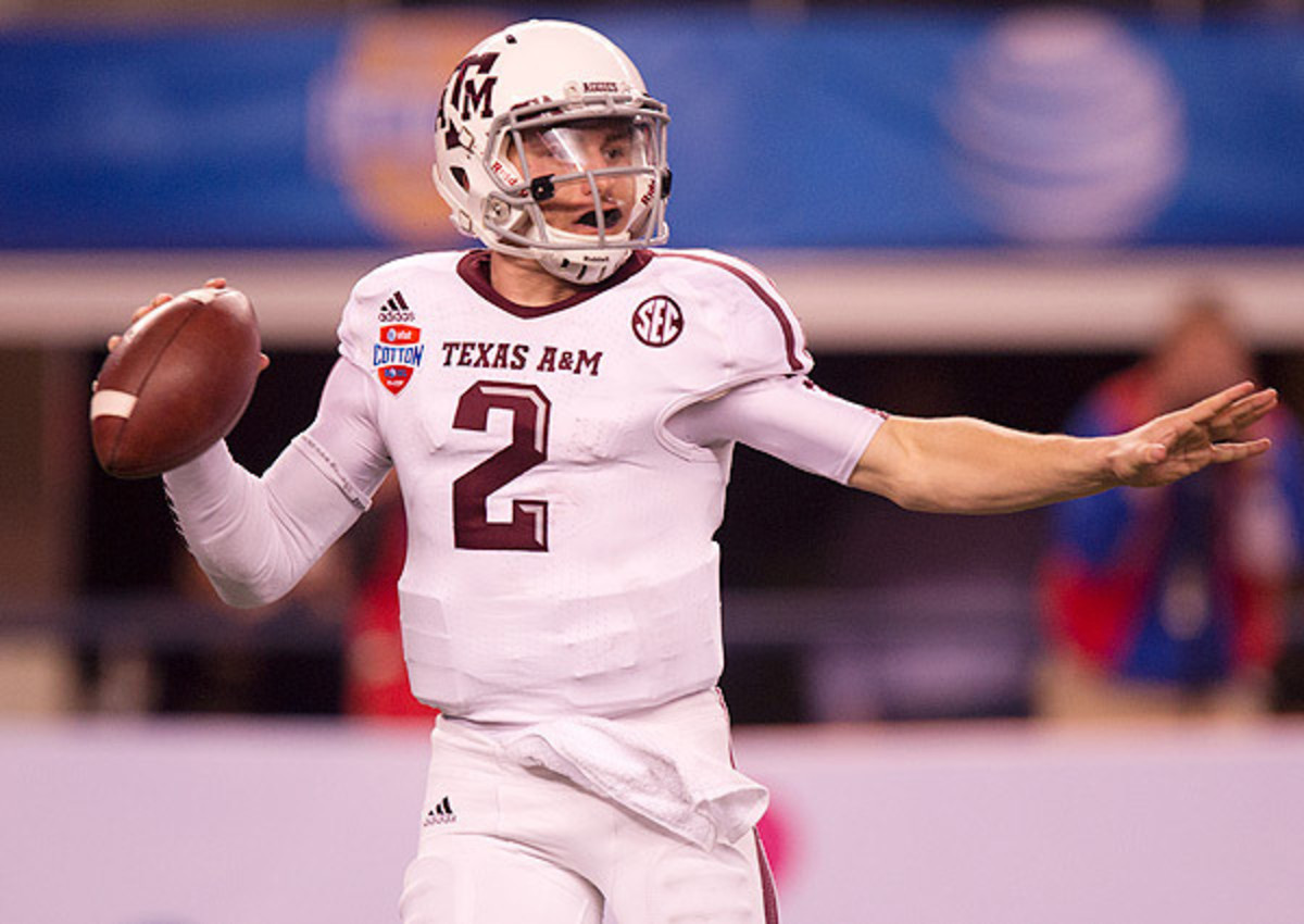 Johnny Manziel selected No. 22 overall by the Cleveland Browns in 2014 NFL draft