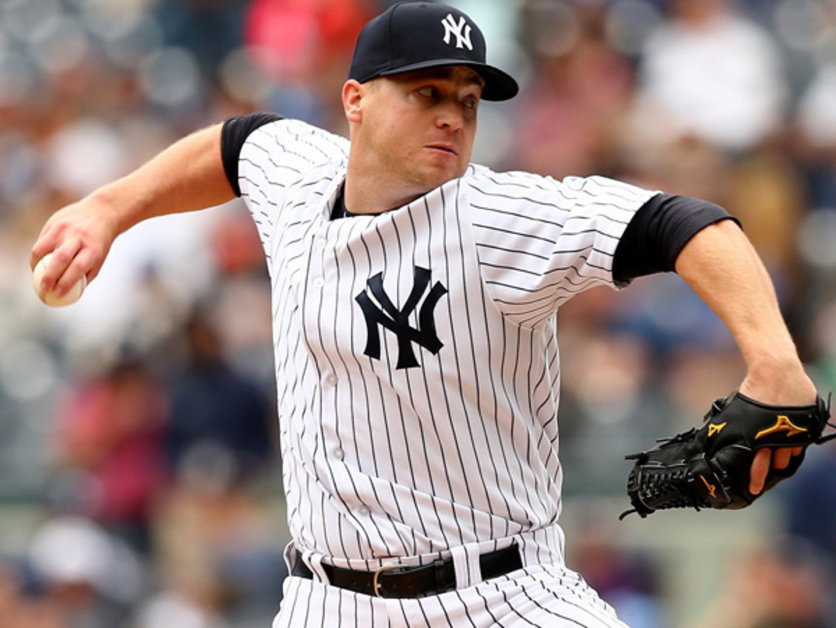 Shawn Kelley will head to the disabled list with a back injury. (Elsa/Getty Images)