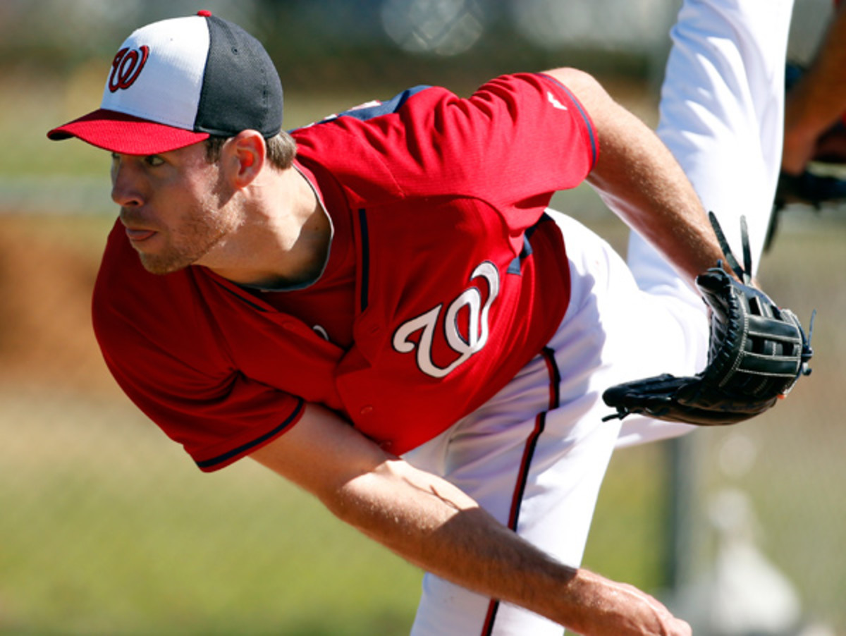 Doug Fister could be in for a career season with the Nationals. (Alex Brandon/AP)
