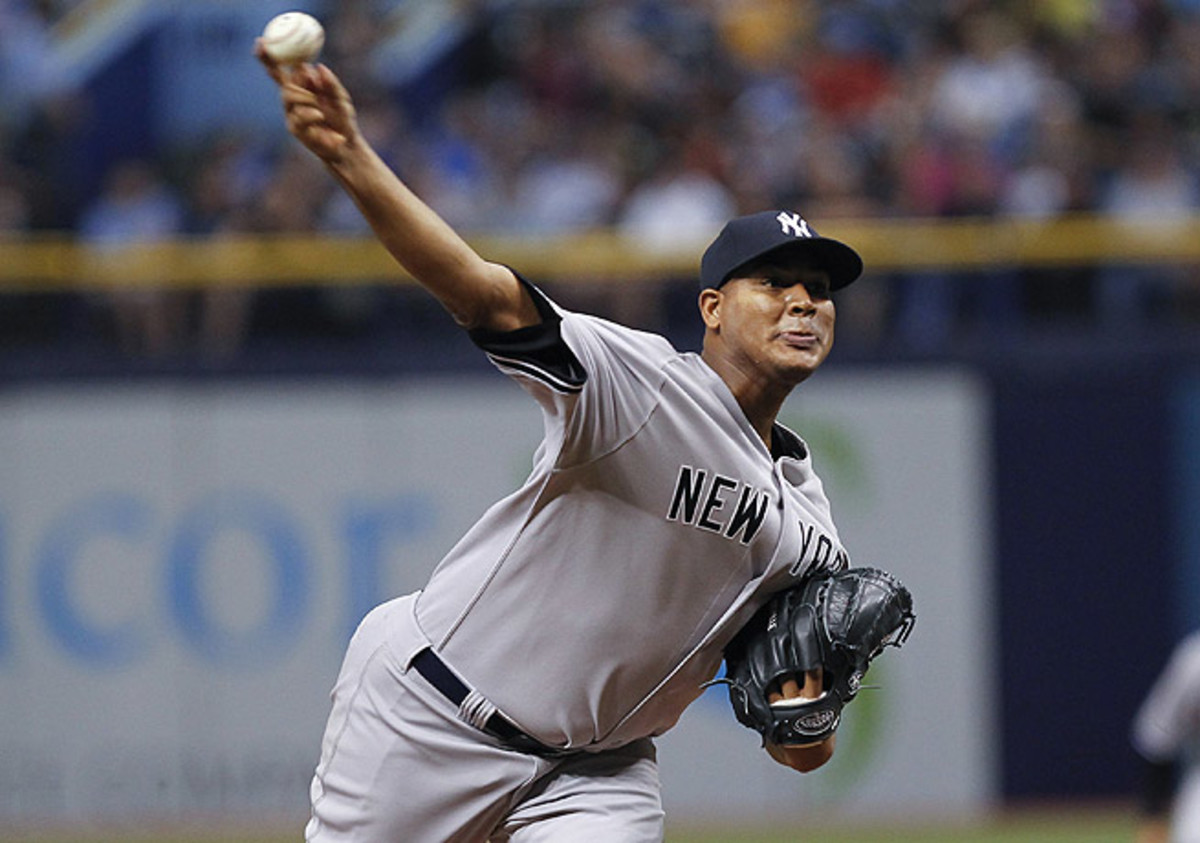 Ivan Nova has compiled a 2-2 record this season to go along with an 8.27 ERA for the Yankees.