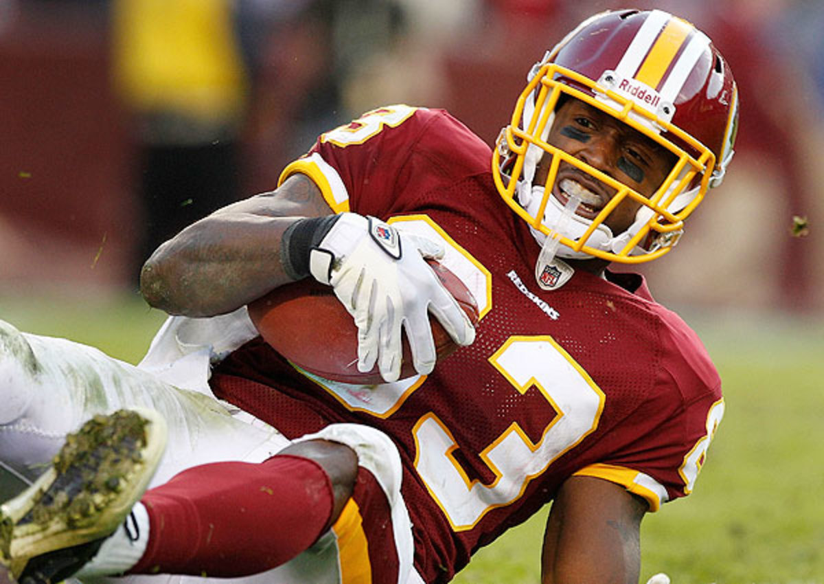 Fred Davis' arrest comes just one day after he was suspended for violating the league's substance-abuse policy. (Evan Vucci/AP)